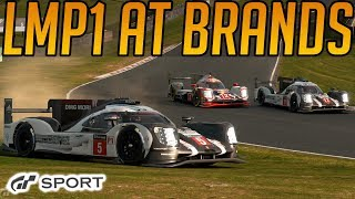 Gran Turismo Sport: Not A Good Idea (LMP1 at Brands)