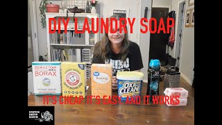 Homemade Laundry Detergent - A Quick And Easy Homestead Money Saving Idea