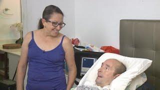 ALS patient discusses fleeing Puerto Rico after Hurricane Maria