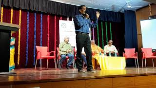 Speech and Mimicry by Shri. Mysore Anand on Sahabalve's 4th Annual Day