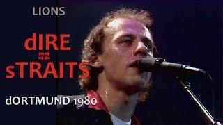 [50 fps] Lions — Dire Straits 1980 Dortmund LIVE pro-shot [POWERFUL VERSION]