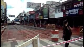 preview picture of video 'San Justo: comenzaron las obras de la peatonalización en un tramo de Ignacio Arieta'