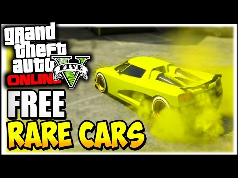GTA 5 Online : RARE CARS FREE Location After Patch 1.37 - Secret Rare Vehicles (GTA 5 Cars Guide)