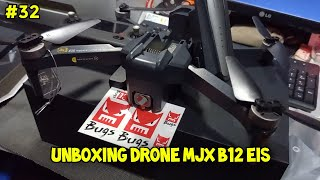UNBOXING Drone - MJX Bugs 12 EIS - Cocok untuk pemula