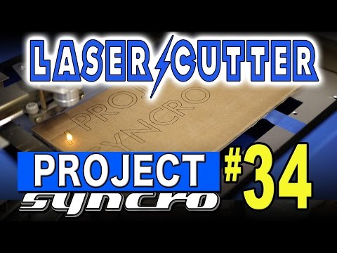 Ebay 40w Laser Cutter Engraver - Project Syncro #34