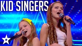 KID SINGERS Reach Amazing Vocals | Israel