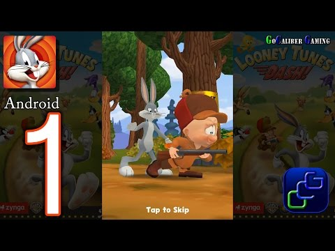 Looney Tunes Dash Android Walkthrough - Gameplay Part 1 - Episode 1: Wabbit Season
