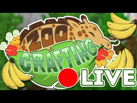 7,000 Adventures?! That's... Bananas!! 🍌🌿 Zoo Crafting: Gardening & Banana Splits! 🔴 LIVE