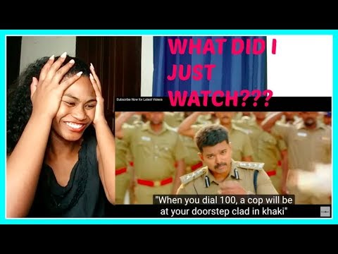 #Kollywood Theri Songs | Jithu Jilladi Official Video Song | Reaction