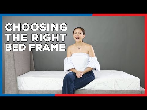 Choosing The Right Bed Frame - Mandaue Foam Home TV