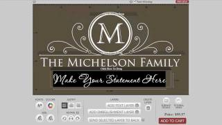 How To Design A Family Monogram Wall Decal