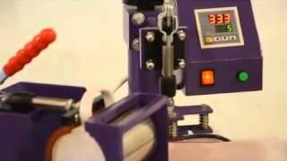 Video Kỹ thuật in ly sứ chuyển nhiệt