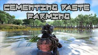 ARK: Survival Evolved Beelzebufo Cementing Paste Farming Tips