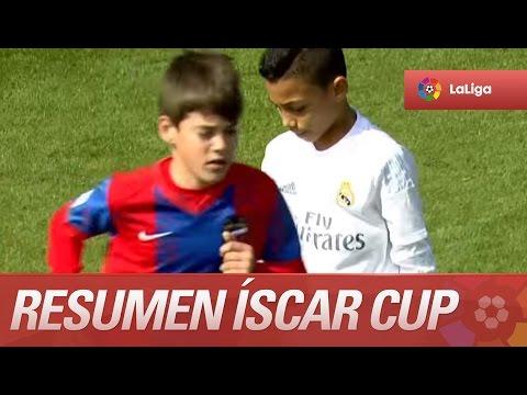 Resumen de Real Madrid (2-1) Levante UD - 3r y 4to Íscar Cup - LaLiga Promises 20152016
