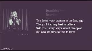 Something Strange - Vicetone [Lyrics] ft. Haley Reinhart