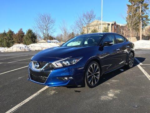 2016 Nissan Maxima SR - Redline: Review