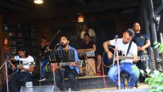 Jaba Sandhya Huncha cover (Pasapi) at Sasaa The Newa Restaurant