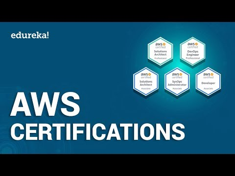Which AWS Certification Should You Choose? | AWS Certifications ...
