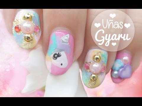 Download Youtube mp3 - Nail Art - Diseño de uñas Unicornio ... - photo#18