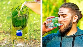 35 GENIUS HACKS TO SURVIVE IN WILDLIFE