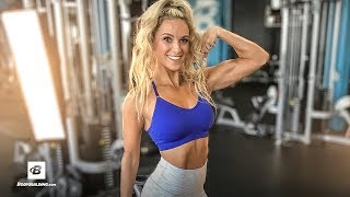 Joelle Cavagnaro's Blood Flow Restriction Training w/ Q&A | Spokesmodel Contest by Bodybuilding.com