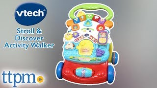 Stroll & Discover Activity Walker From VTech