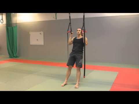 Leg Assisted Suspension Trainer Chin Up