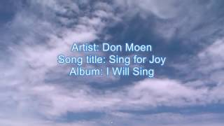 Sing For Joy Karaoke - Don Moen