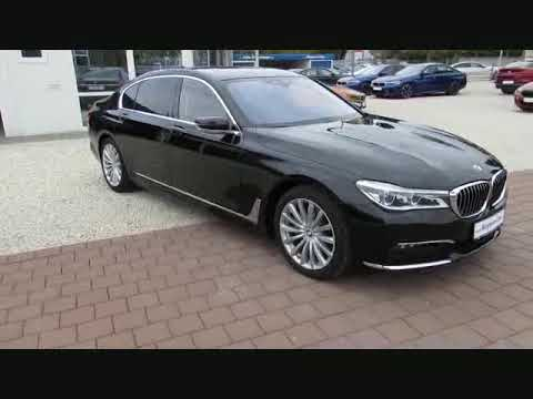 Video BMW 740Li xDr SkyL.Sitzlüft.Standh.FondTV DrAssist+