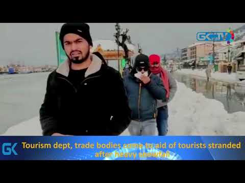 Tourism dept, trade bodies come to aid of tourists stranded after heavy snowfall