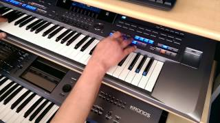 BESAME MUCHO : YAMAHA TYROS 5 (with audio link)