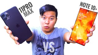 2 KIDNEY KA COMPARISON 😂😂 - iPhone 11 Pro Max Vs Samsung Galaxy Note 10+ Full Comparison