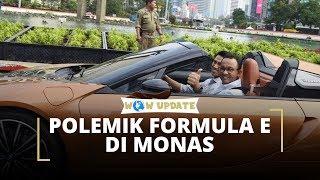 Anies Enggan Tanggapi Polemik Pelaksanaan Formula E di Kawasan Monas