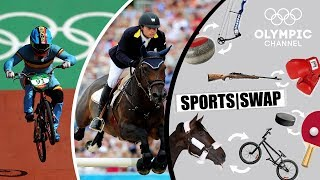 BMX vs Equestrian | Can They Switch Sports? | Sports Swap Challenge