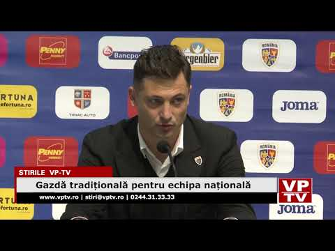 Gazdă tradițională pentru echipa națională