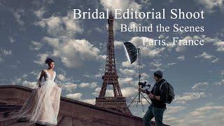 Bridal Editorial Shoot | Fashion Week | Paris, France.