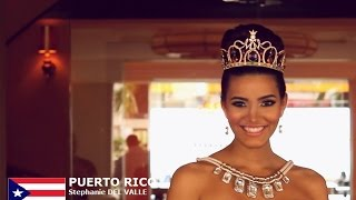 Stephanie Del Valle Diaz Contestant from Puerto Rico for Miss World 2016 Introduction