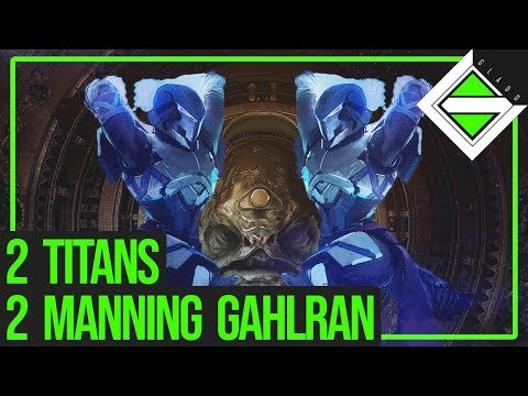 2 Titans 2 Manning Gahlran - Crown of Sorrow | Destiny 2
