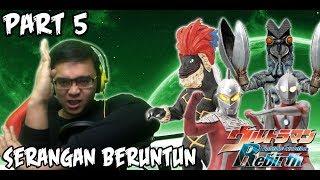 Ultraman Fighting Evolution REBIRTH (PS2) Part 5 - SERANGAN BERUNTUN !!!