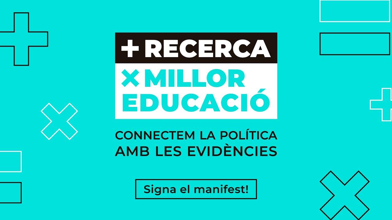 Presentació: Apostem per la recerca per millorar l'educació del país