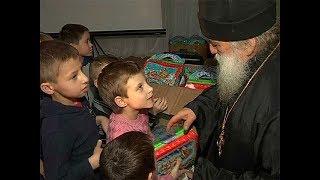 В святочные дни воспитанники курского интерната встречают гостей