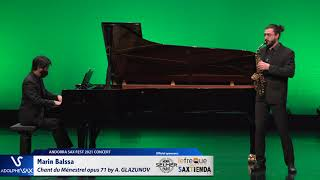 Marin Balssa plays Chant du Ménestrel opus 71 by Alexander GLAZUNOV