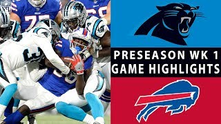 Panthers vs. Bills Highlights | NFL 2018 Preseason Week 1