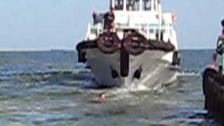 preview picture of video 'Pass/boat RUBIN, June 2009 / Катер Рубин, Ильичевск, июнь 2009'