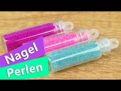 Adventskalender DIY INSPIRATION | Päckchen #19 öffnen | Nagel Perlen in Pink, Lila, Blau