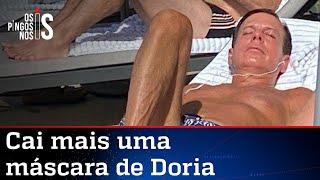 Doria é flagrado sem máscara em hotel no Rio de Janeiro