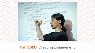 Fall 2020: Creating Engagement