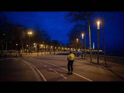 Βαρκελώνη: Η πόλη σε καραντίνα – Εικόνες drone