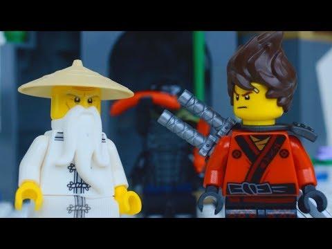 LEGO Ninjago Movie STOP MOTION w/ Garmadon vs The Bridge   LEGO Ninjago   By LEGO Worlds