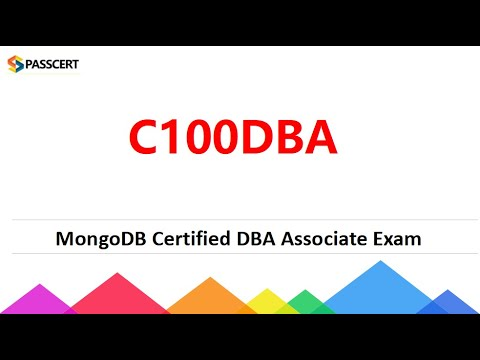 C100DBA Exam Dumps - MongoDB Certified DBA Associate Exam ...